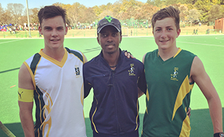 wLyle (SA u18B) and Guy (SA u16A) national captains